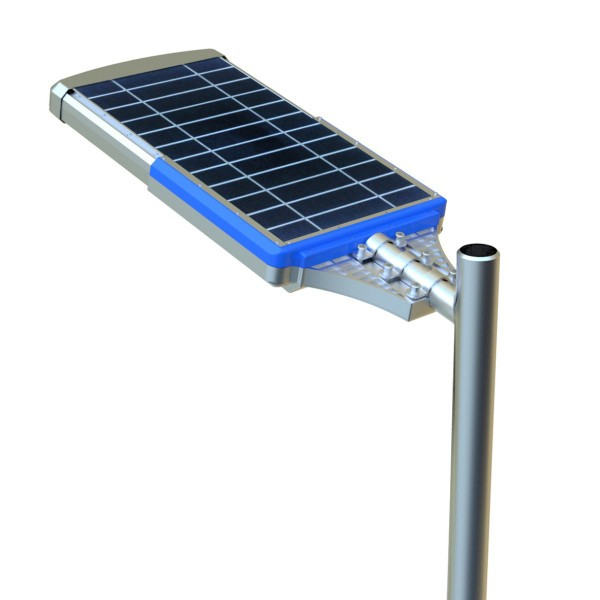 Farola solar de led for Lampara solar led