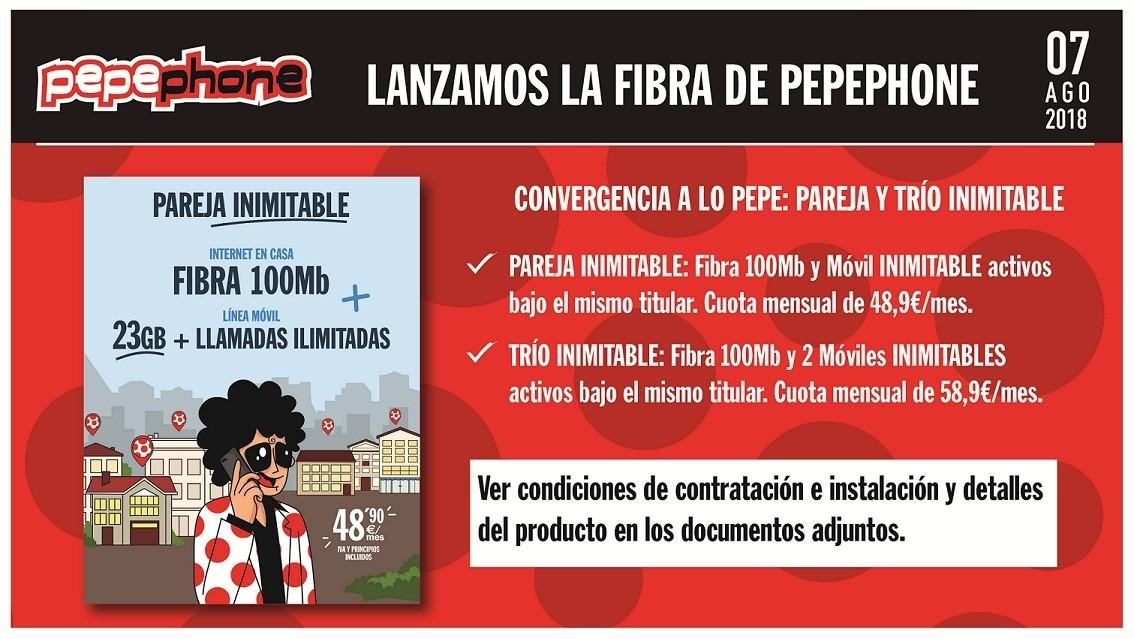 FIBRA PEPEPHONE ELECTRONICA PKS LORA DEL RIO INIMITABLE