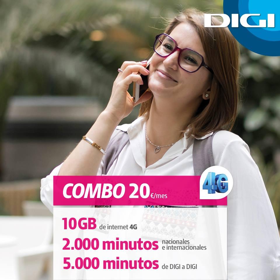 Cuentan con la mejor cobertura actualmente en España, Movistar con cobertura 4G.