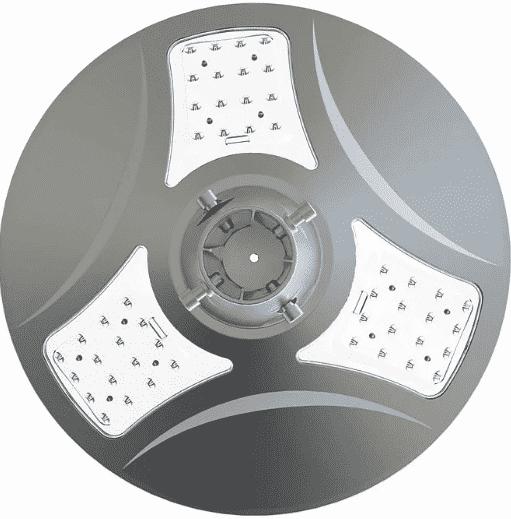 farola solar redonda 3