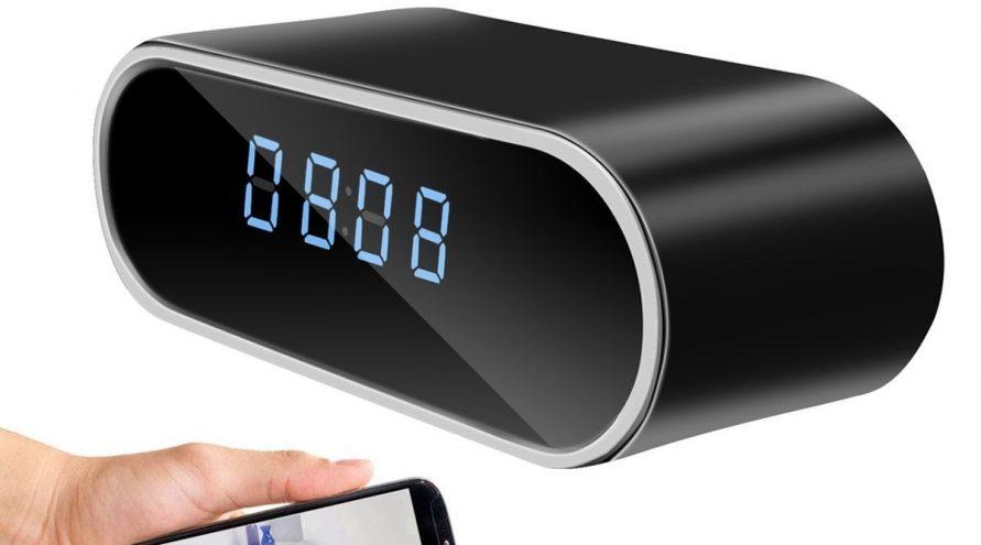 Cámara espía  reloj despertador
