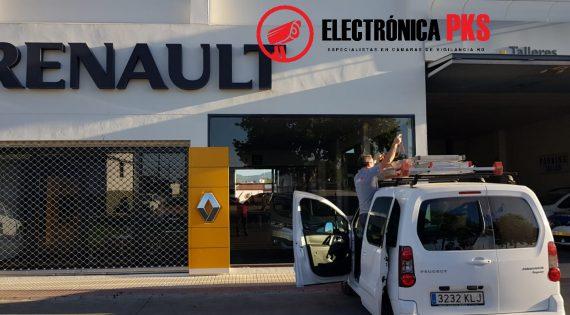 Instalación en la Renault de Lora del Río, Sevilla.