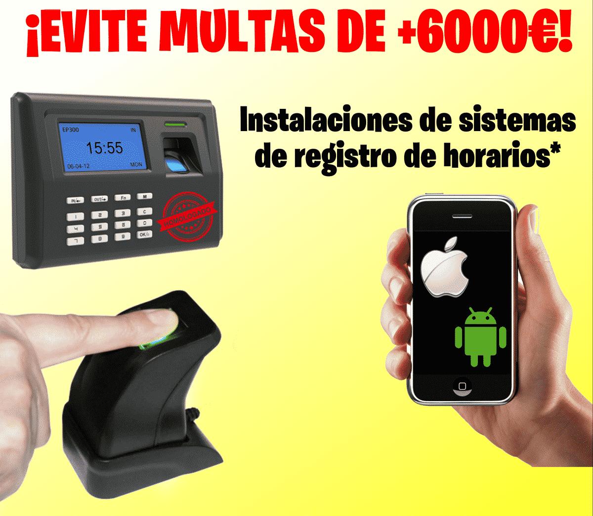 REGISTRO DE HORARIOS, EVITE MULTAS EN TU NEGOCIO