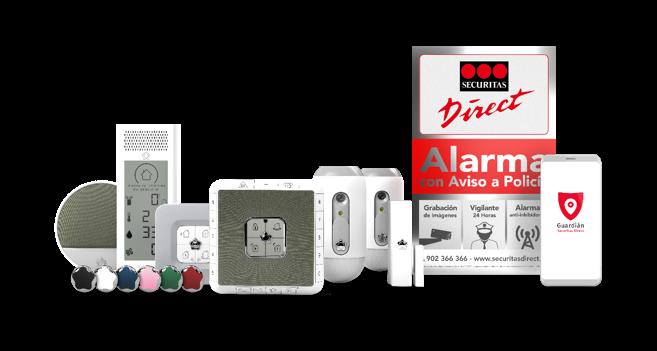 Alarma para tu hogar o negocio con Securitas Direct