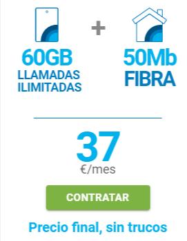 TARIFAS FIBRA + MÓVIL BARATAS EN LORA DEL RÍO